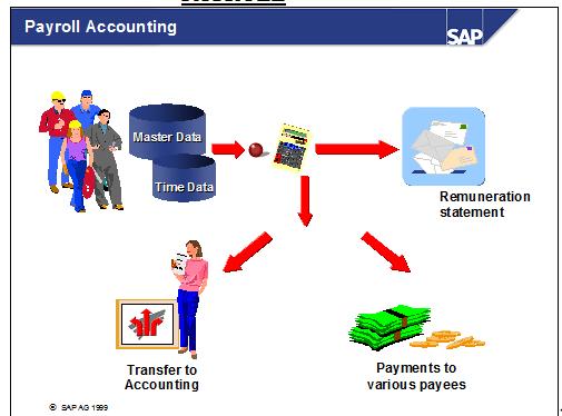 Payroll accounting in sap